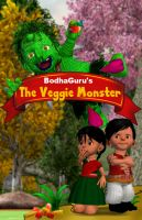 Cover for 'The Veggie Monster'