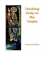Cover for 'Teaching Daily in the Temple'