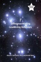 Cover for '7 Difference-Making Leadership Behaviors'