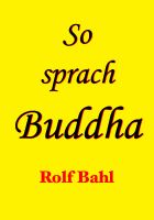 Cover for 'So sprach Buddha'