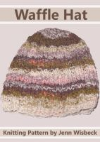 Cover for 'Waffle Hat Baby Knitting Pattern'