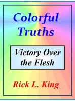 Cover for 'Colorful Truths Victory over the Flesh'