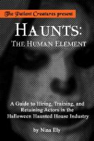 Cover for 'Haunts: The Human Element'