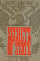 Cover for 'Secrets of State'