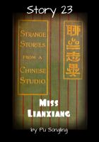 Cover for 'Story 23:  Miss Lianxiang'
