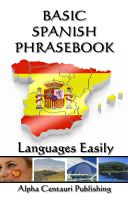 Cover for 'Basic Spanish Phrasebook'