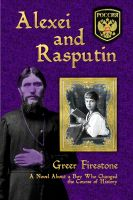 Cover for 'Alexei and Rasputin'