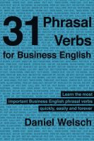 Cover for '31 Phrasal Verbs for Business English'