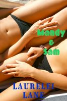 Cover for 'Mandy and Sam: A Seaside Lesbian Seduction'