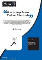 Cover for 'How to Help Teams Perform Effectively'
