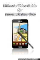 Cover for 'Samsung Galaxy Note Video Guide'