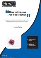 Cover for 'How to Improve Job Satisfaction'