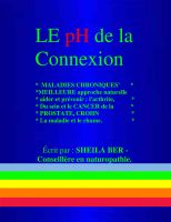 Cover for 'LE pH de la CONNEXION - FRENCH EDITION'