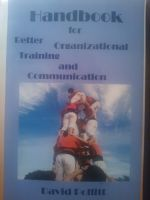 Cover for 'Handbook for Better Organizational Training and Communication'