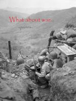 Cover for 'What about war...'