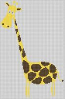 Cover for 'Giraffe 7 Cross Stitch Pattern'