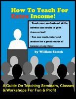 Cover for 'How To Teach For Extra Income!'