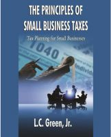 Cover for 'The Principles of Small Business Taxes'