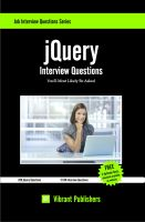 Cover for 'jQuery Interview Questions You'll Most Likely Be Asked'