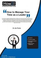 Cover for 'How to Manage Your Time as a Leader'