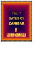 Cover for 'The  seven gates of Zanzibar'