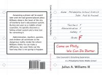 Cover for 'Come on Philly, We Can Do Better'