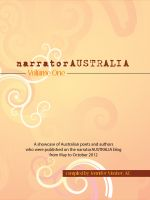 Cover for 'narratorAUSTRALIA Volume One'