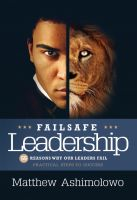 Cover for 'Failsafe Leadership'