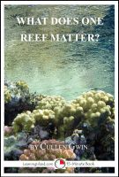 Cover for 'What Does One Reef Matter?'