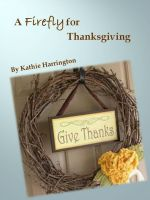 Cover for 'A Firefly for Thanksgiving'