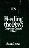 Cover for 'Feeding the few'