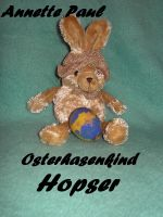 Cover for 'Osterhasenkind Hopser'