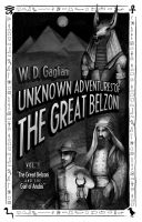 Cover for 'The Great Belzoni and the Gait of Anubis'