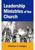Cover for 'Leadership Ministries of the Church'