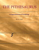 Cover for 'The Pithesaurus'
