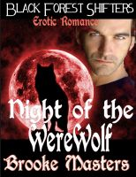 Cover for 'Night of the Werewolf: Paranormal Erotica'