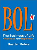 Cover for 'BOL - The Business Of Life'