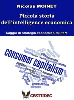 Cover for 'Nicolas Moinet  Piccola storia della intelligence economica'