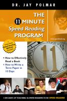 Cover for '11 Minute Speed Reading Course + How To Accomplish More in Less Time'