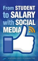 Cover for 'From student to salary with social media'