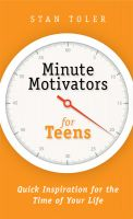 Cover for 'Minute Motivators for Teens'