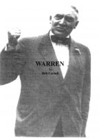 Cover for 'Warren'