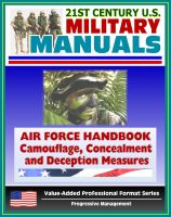 Cover for '21st Century U.S. Military Manuals: Air Force Handbook - Civil Engineer Camouflage, Concealment, and Deception Measures'