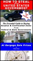 Cover for 'How To Steal From the United States Government: The Essential Guide To Buying Surplus and Confiscated Items from Federal and State Governments at Garage Sale Prices'
