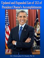 Cover for 'Updated and Expanded List of 212 of President Obama's Accomplishments'