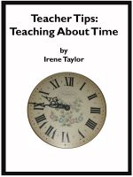 Cover for 'Tips for Teachers: Teaching About Time'