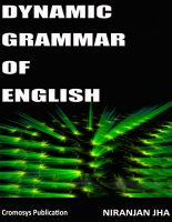 Cover for 'Dynamic Grammar of English'