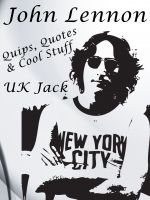 Cover for 'John Lennon: Quick Quips, Cryptic Quotes & Cool Comments!'