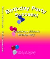 Cover for 'Birthday party success'