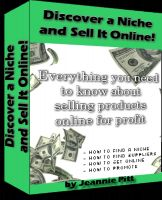 Cover for 'Discover a Niche and Sell It Online'